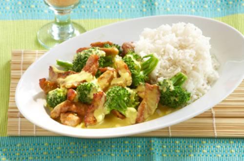 Knorr - Schnitzel-Erdnuss-Curry