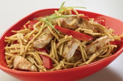Teriyaki Pork Lo Mein Knorr