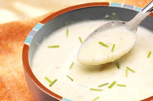 Creamy Potato & Cheese Soup