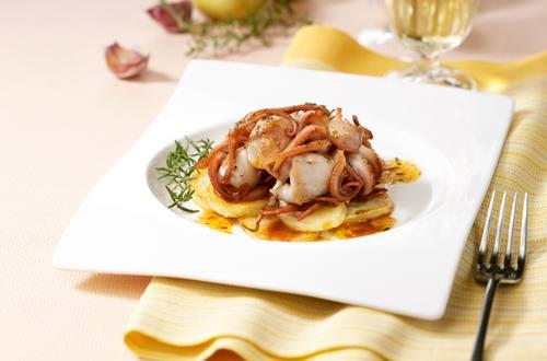 Moscardini con Patate