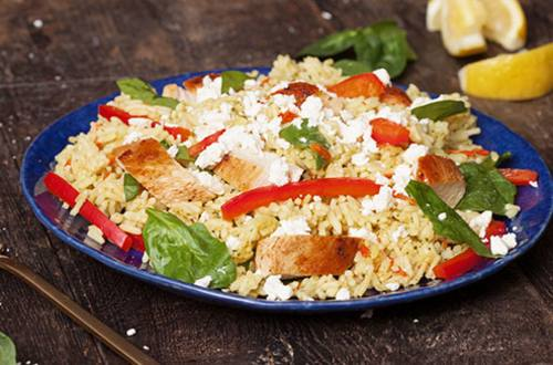 Chicken & Vegetables with Feta