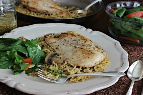 Elegant Chicken with Mushrooms