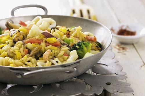 Knorr - Paella mit Meeresfrüchten