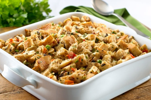 Holiday Vegetable Stuffing