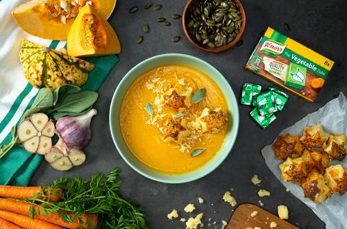 Squash and Pumpkin Soup