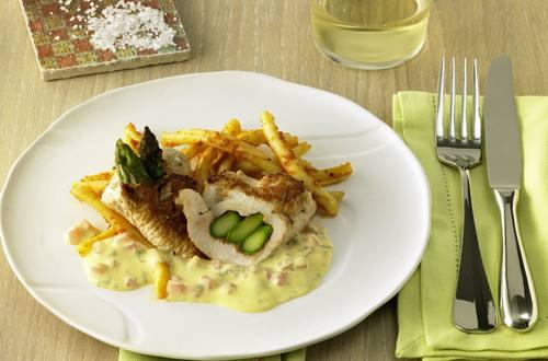 Knorr - Spargel-Schnitzel-Taschen