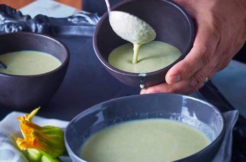 Crema de Calabaza y Champiñón
