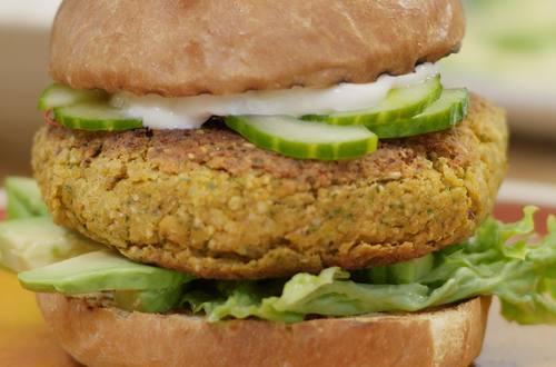 DJ BBQ Eastside Veggie Burger Grilltopia