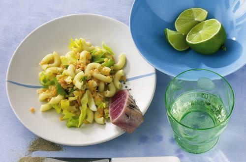 Knorr - Linsen-Nudel-Salat mit Kardamom und Thunfisch