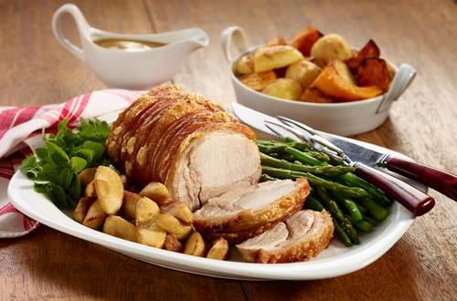 Roast Pork with Apple