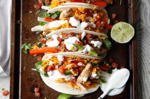 Buffalo Chicken Tacos