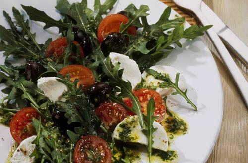 Knorr - Rucola-Tomaten-Salat mit Ziegenkäse