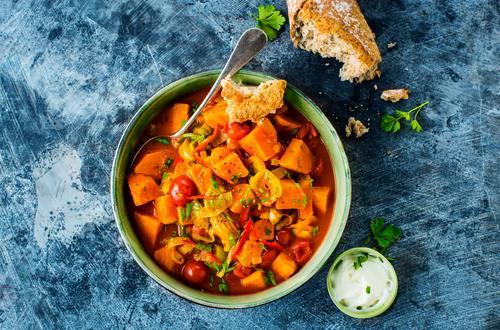 Knorr - Süßkartoffel-Tomaten-Eintopf