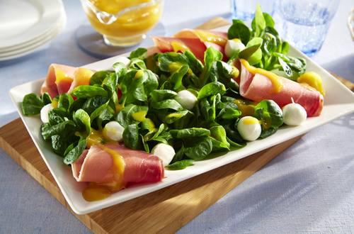Knorr - Feldsalat mit Serranoschinken