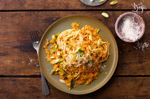 Knorr - Spaghetti Bolognese mit Linsen