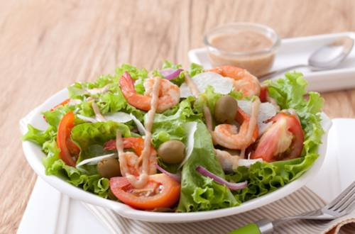 Shrimp Sinigang Salad Recipe