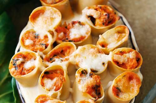 Knorr - Cannelloni mit Kürbis und Mangold