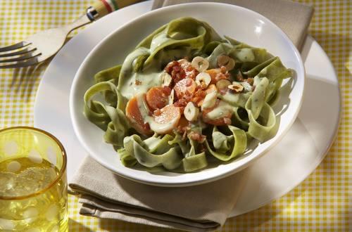 Knorr - Pasta mit Karotten-Carbonara