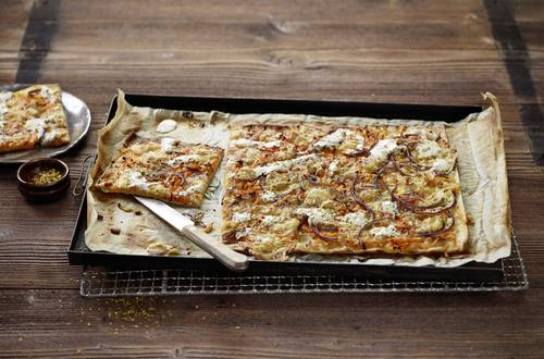 Rüebli-Flammkuchen