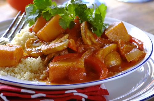 Butternut tagine