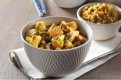 Curry au Poulet de Hong Kong