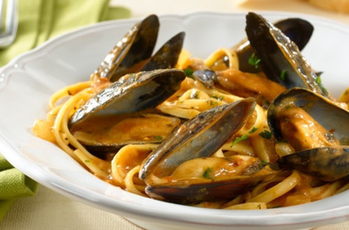 Parma-Rosa® Mussels & Linguine