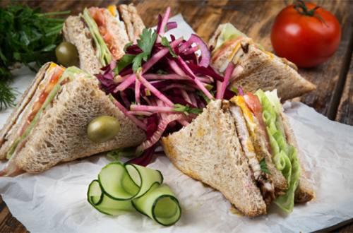 Клубный сэндвич с индейкой
