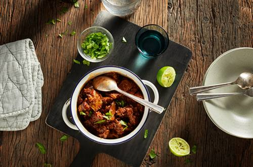 Mexicaanse runderstoof barbacoa
