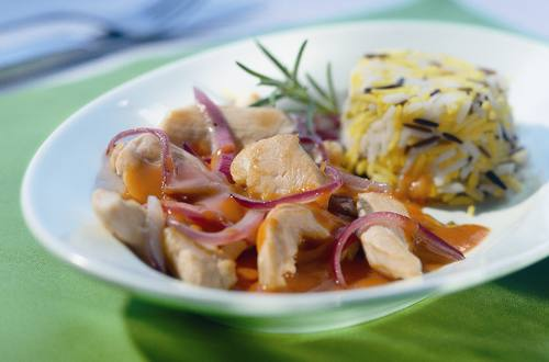 Knorr - Hähnchenpfanne mit Reis