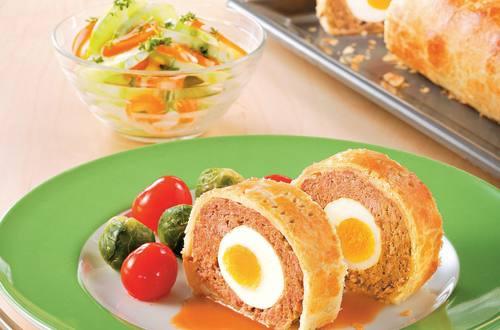 Knorr - Faschierter Braten mit Ei (Falscher Hase)