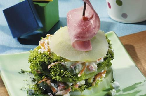 Knorr - Knackige Gemüsetürmchen