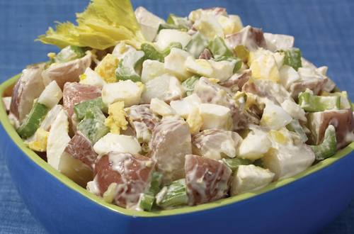 New Orleans Kickin' Potato Salad