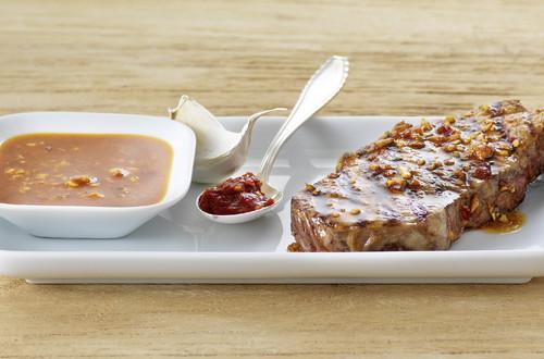 Asia-Marinade für Rindfleisch Ausschnitt