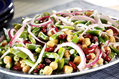 Creamy Three Bean Salad Recipe