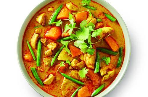 Thai Chicken & Sweet Potato Curry
