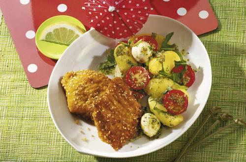 Knorr - Kartoffelsalat mit Sesam-Schnitzelchen