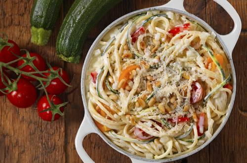 Knorr - One Pot Pasta mit Zucchini