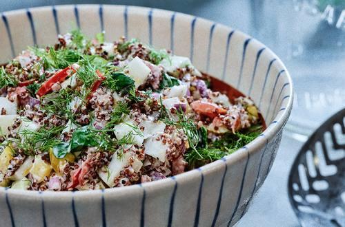 Hellmann's - Salade au quinoa rapide