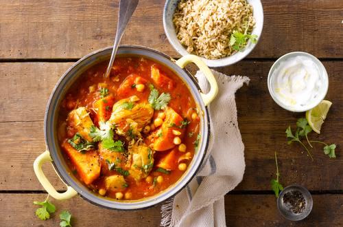Knorr - Hähnchen Curry mit Kichererbsen