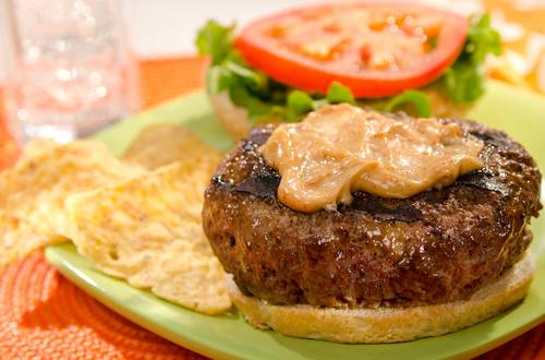 Burgers with Spicy Mayo