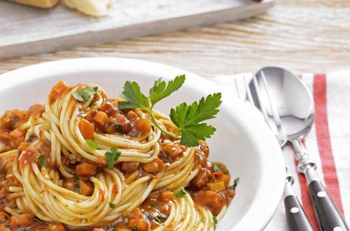 Spaghetti Bolognese al Diavolo