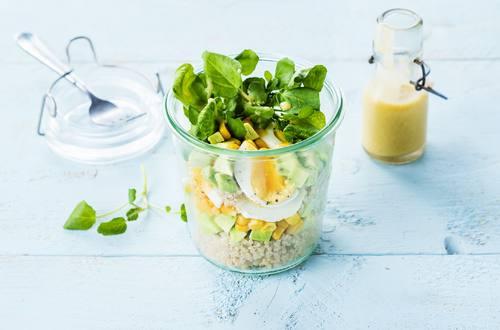 Quinoa-Ei-Salat