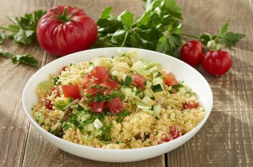Bunter Couscous Salat