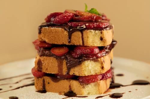 Strangewich style gâteau