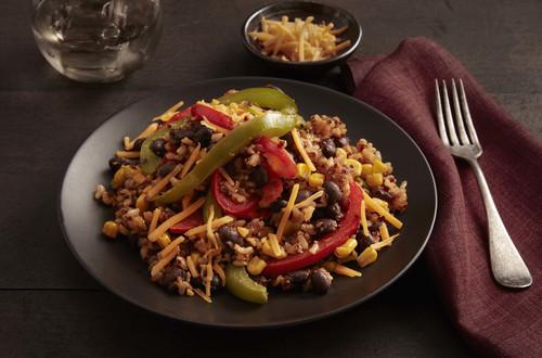 Spicy Chipotle Black Beans, Brown Rice & Quinoa