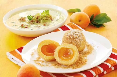 Knorr - Wachauer Marzipan-Marillenknödel
