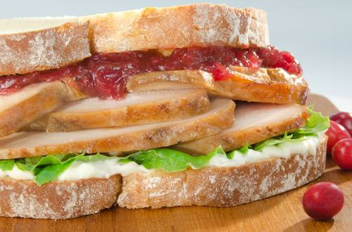 Turkey & Cranberry Sandwiches