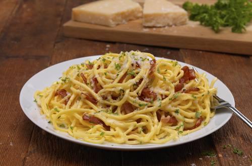 Quick And Easy Spaghetti Carbonara