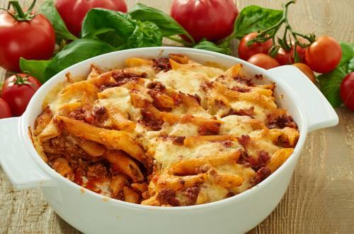 Knorr Italienischer Nudelauflauf