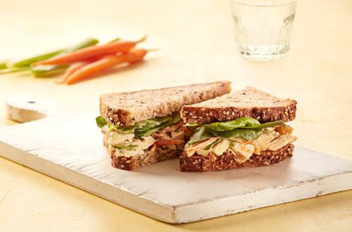 Chicken & Apple Salad Sandwiches
